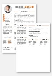 cv sjabloon 26 2de pagina