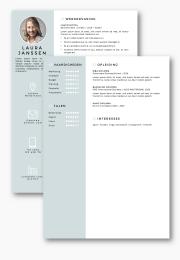 CV sjabloon volgpagina
