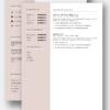 cv template 22 tweede pagina