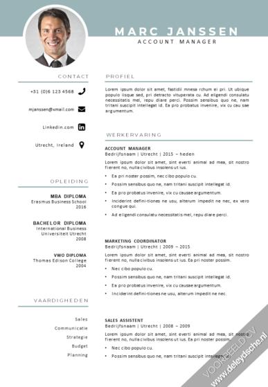 CV template 2020