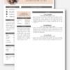CV sjabloon 19 2de pagina