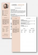 cv sjabloon 2de pagina