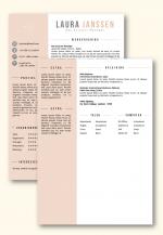 cv sjabloon 25b inclusief volgpagina