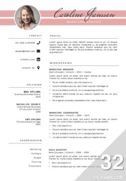 Creatief CV Sjabloon